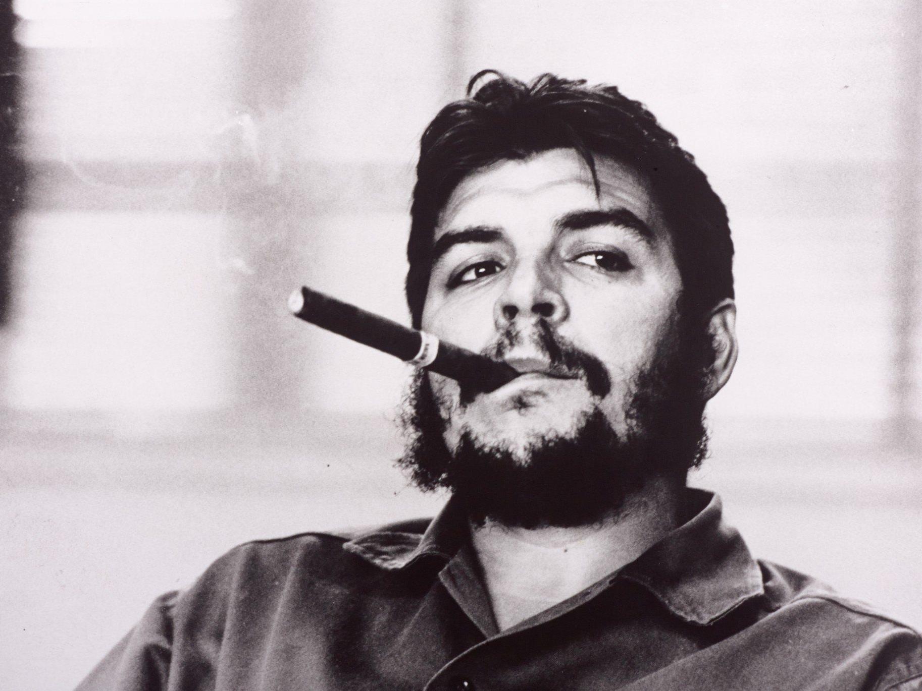 Viele von René Burris Werken wie jenes von Che Guevara mit Zigarre sind weltberühmt.