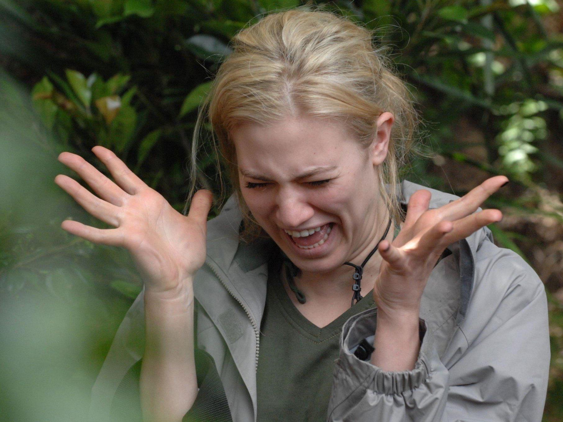 Larissa muss erneut zur Dschungelprüfung antreten.