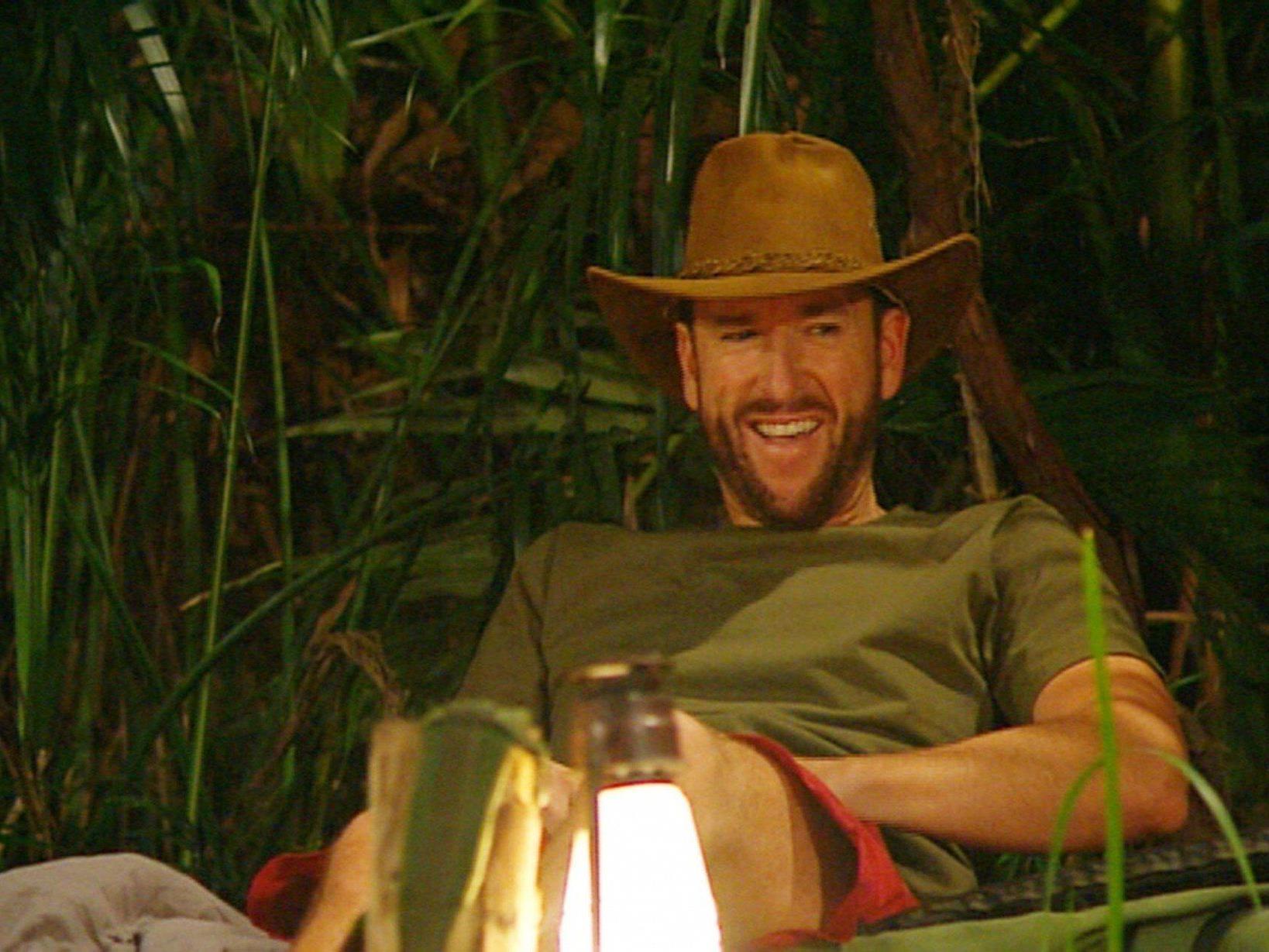 Michael Wendler verließ am 4. Tag das Dschungelcamp 2014.