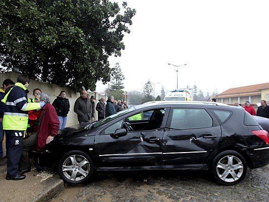 Vorfall an der Mündung des Flusses Douro in Porto