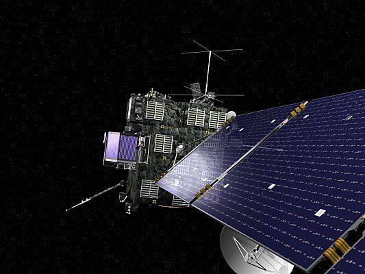 """Rosetta"" auf dem Weg zum Kometen 67P"
