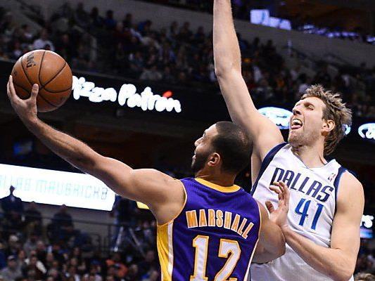 Schlappe der Lakers gegen die Mavericks