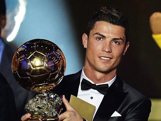 Cristiano Ronaldo zum zweiten Mal Weltfußballer