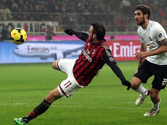 Pazzini trifft für Milan zum 2:0