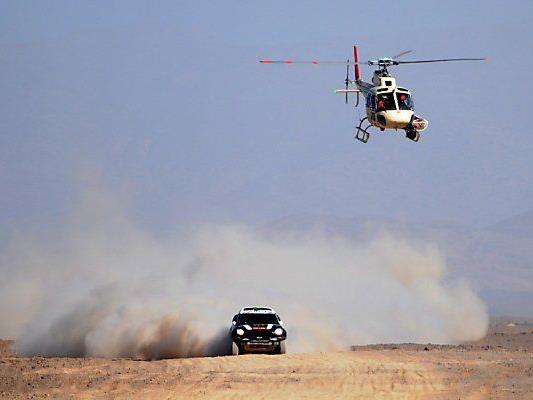 Peterhansel fährt um seinen zwölften Dakar-Sieg