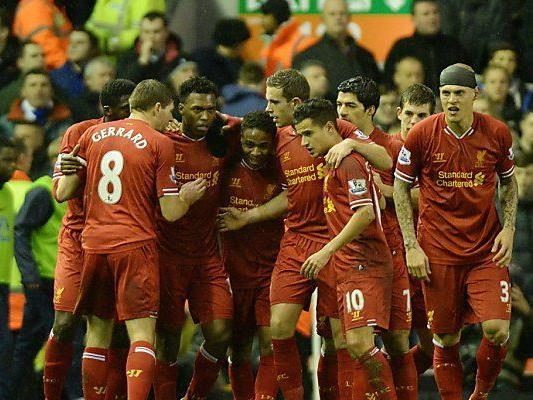 Liverpool gewann 4:0 im Merseyside-Derby