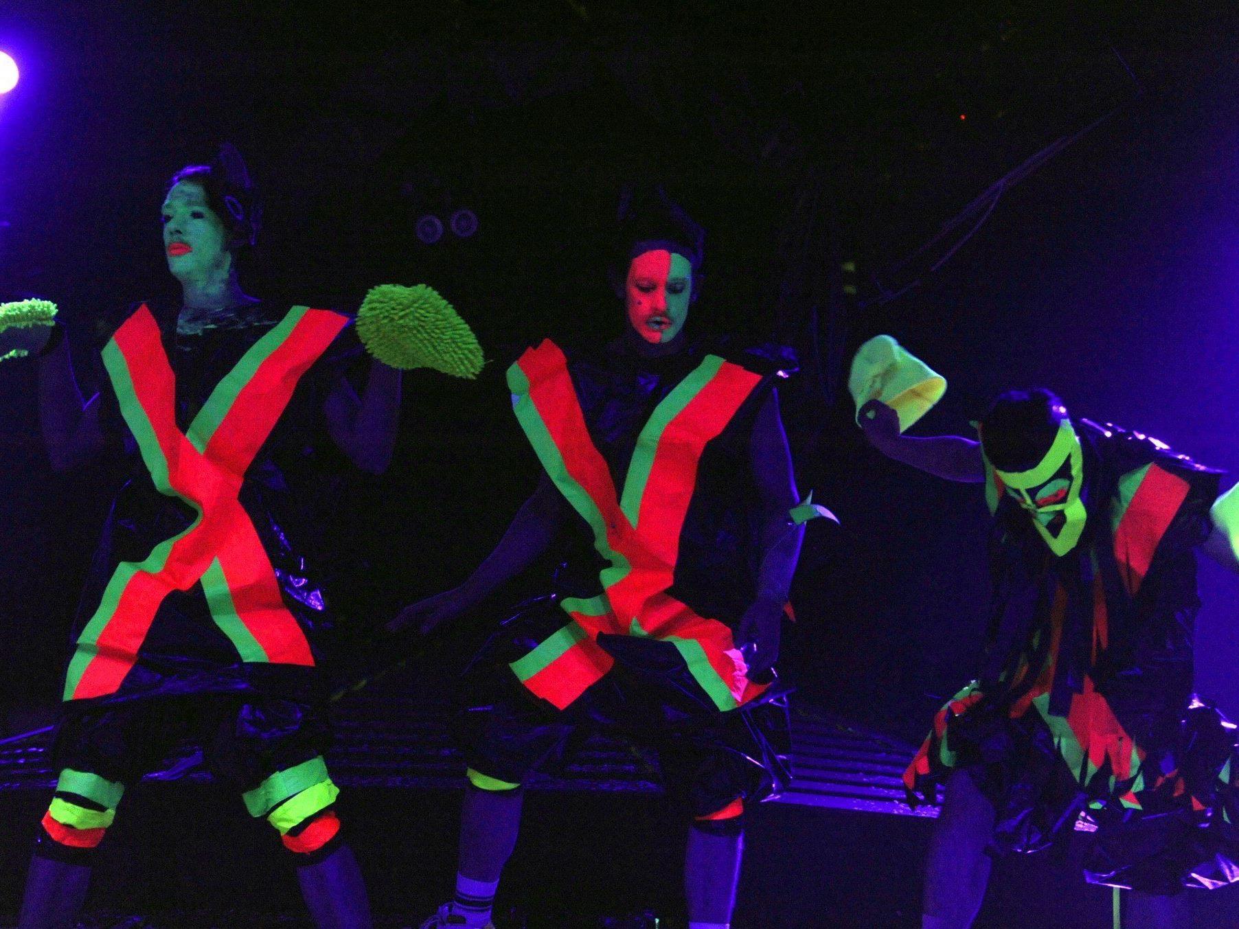 """""""Deichkind"""" als Haupt-Act beim Tomorrow Festival in Zwentendorf"""