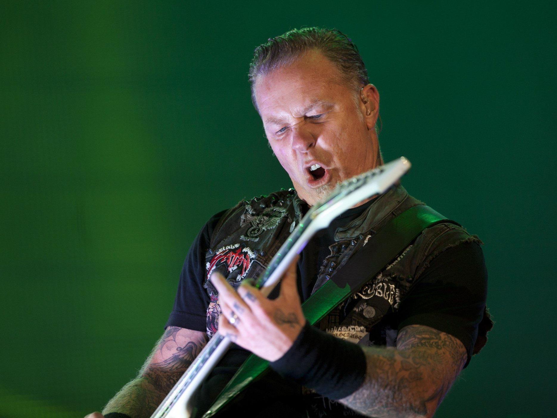 Metallica in Wien: Alice in Chains und Children of Bodom als Vorbands