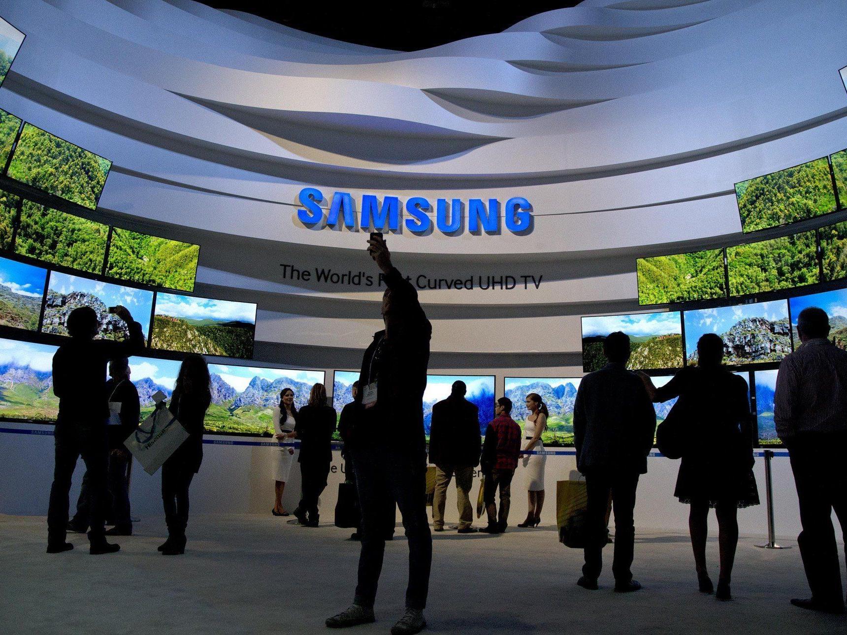 Samsung-Shops in sieben Ländern, Österreich nicht dabei.