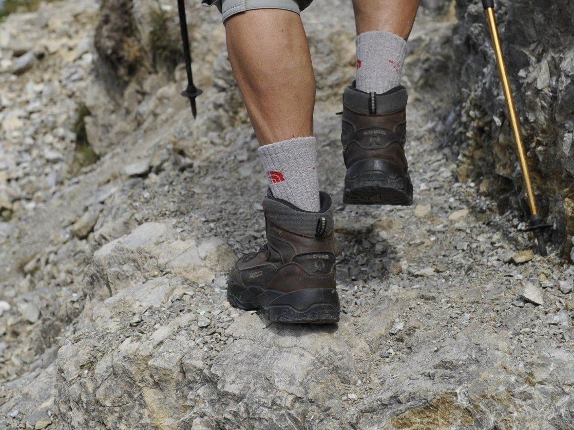 Bei einem Unfall auf der Rax wurden zwei Bergsteiger verletzt.