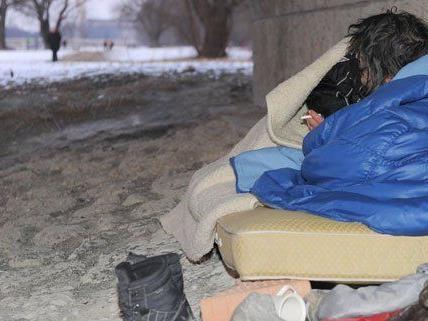 """Lange Kältephasen sind besonders gefährlich für Obdachlose. Im neuen """"Tageszentrum Prater"""" kann man sich aufwärmen."""