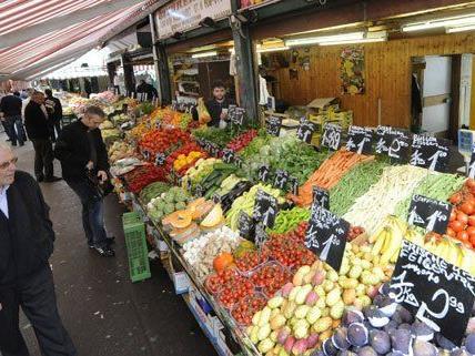 Im Vorjahr konnten die Wiener Märkte 325.000 Besucher pro Woche verzeichnen.