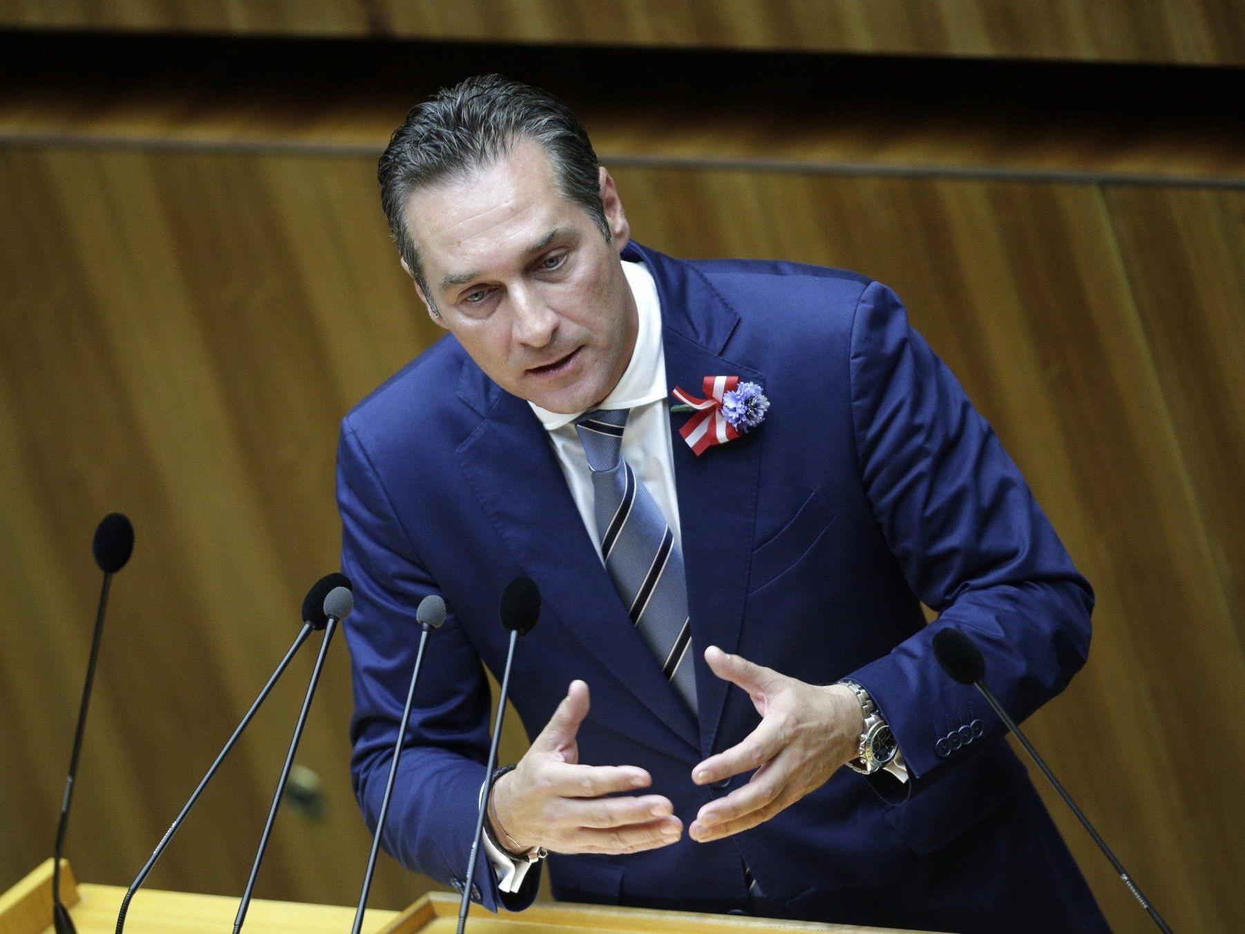 FPÖ-Ziel bei der EU-Wahl 2014: 20 Prozent.