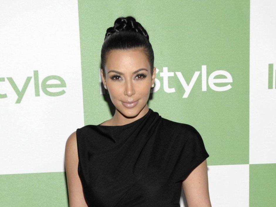 Kim Kardashian begleitet Richard Lugner zum Opernball 2014.