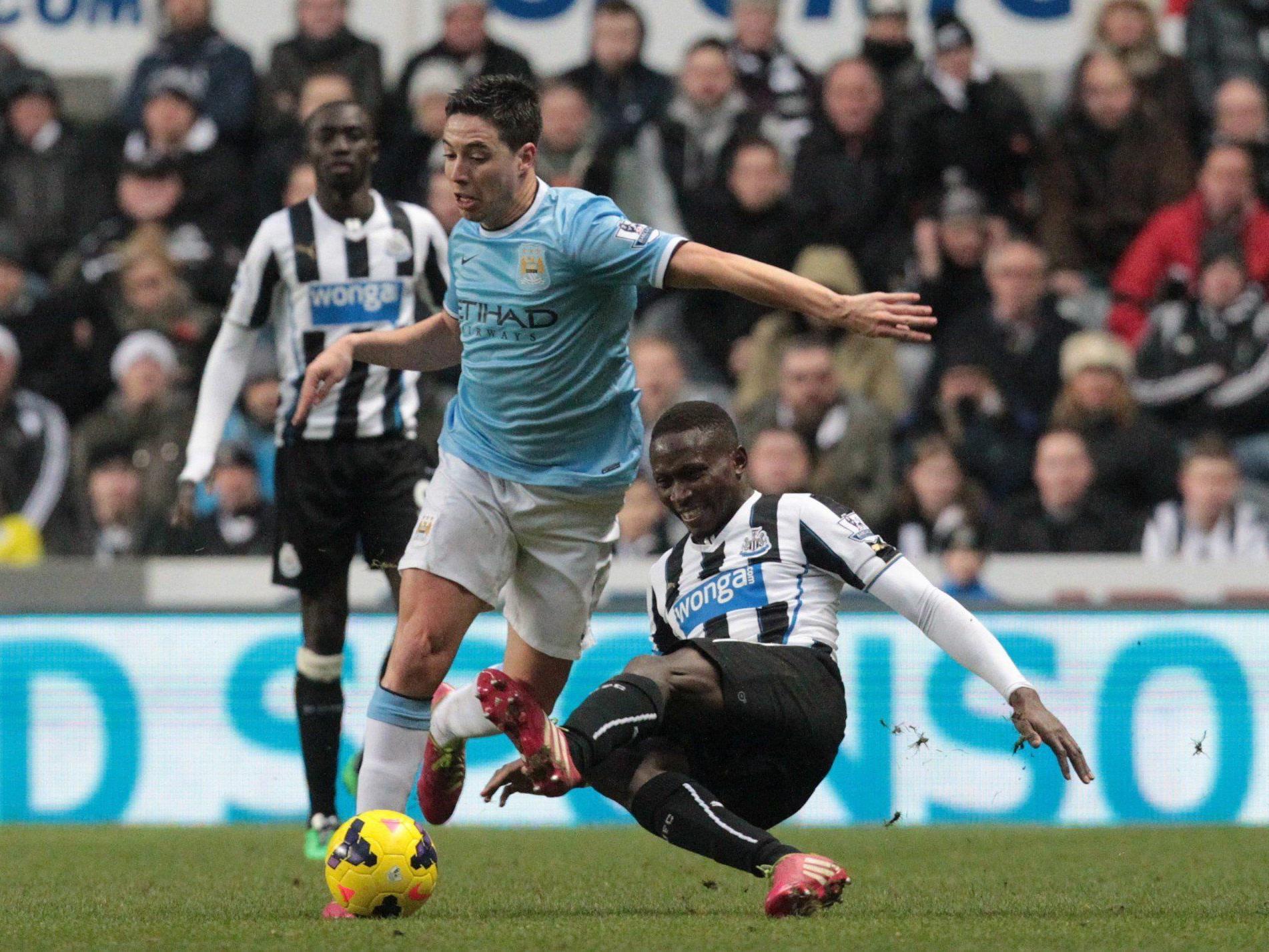 Manchester City muss zwei Monate auf Samir Nasri verzichten.