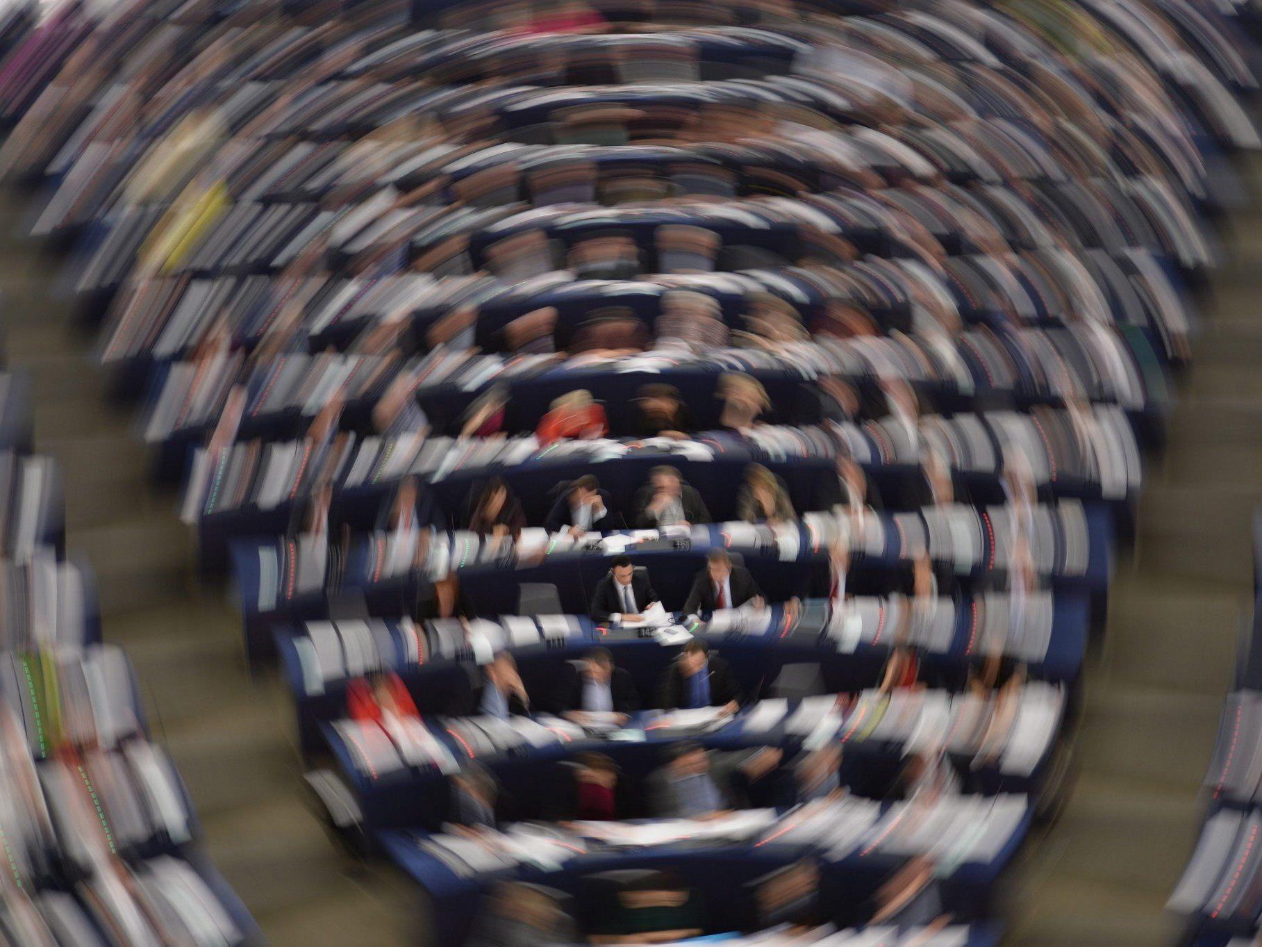 Die letzte Sitzung des alten EU-Parlaments findet in Straßburg statt.