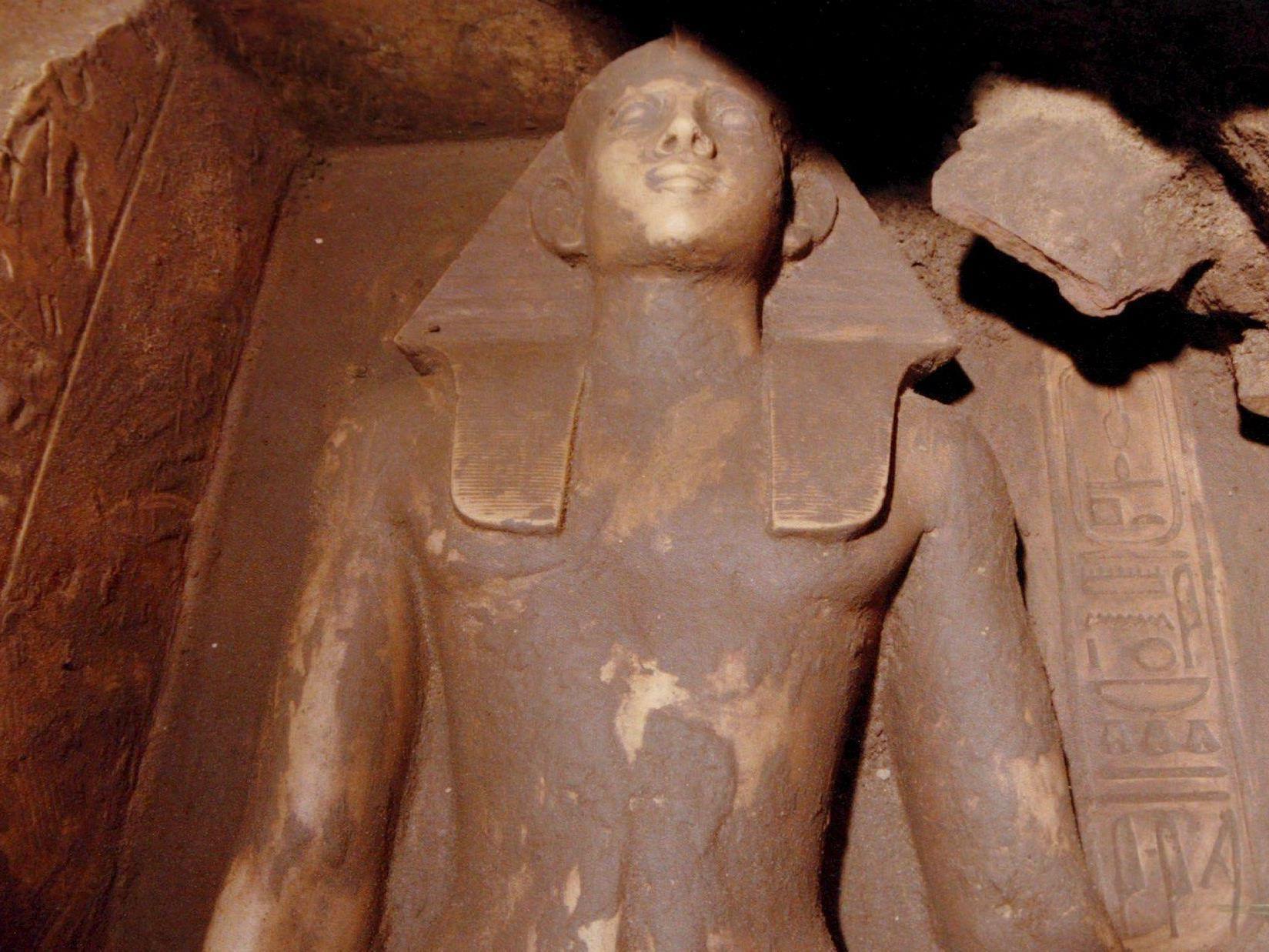 Archäologen entdeckten in Abydos ein Grab eines Pharaos.
