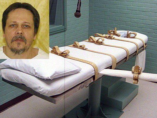 """Neuer Todes-Cocktail: US-Häftling Dennis McGuire wurde Teil eines """"grausamen Experiments""""."""