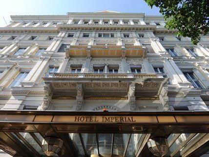 Das Wiener Hotel Imperial kam zu höchsten Ehren