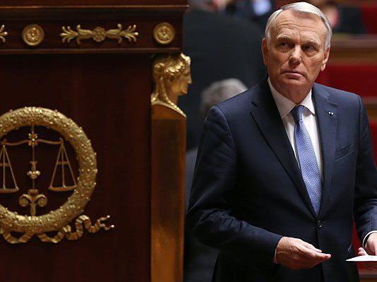 Der französiche Premierminister Jean-Marc Ayrault besucht Wien