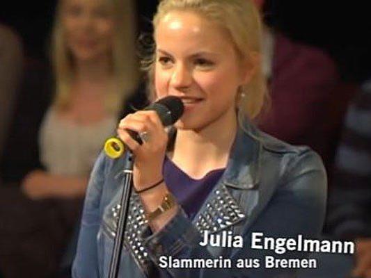 Julia Engelmann trifft mit ihren Worten genau den Nerv der Zeit.