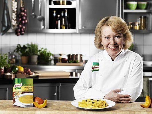 Bei der Cook & Look: Kochen mit KNORR Chefköchin Elisabeth Strunz
