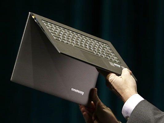 Der chinesische Hersteller Lenovo war 2013 die Nummer eins im PC-Markt.