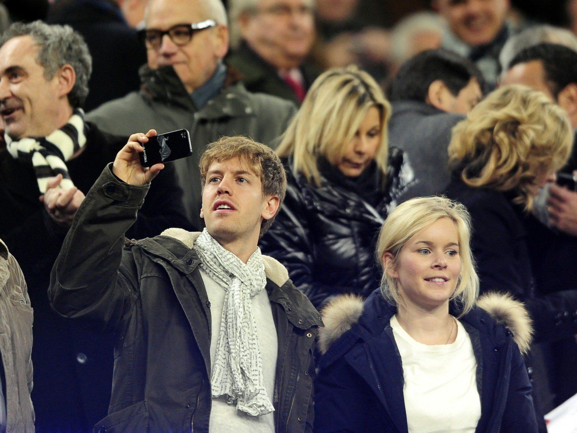 Sebastian Vettel und seine Freundin Hanna sollen erstmals Eltern geworden sein.