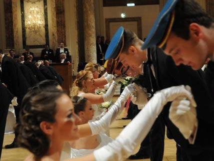Rund 400 Ballgäste nahmen an der Veranstaltung in der Hofburg teil.