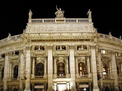 Nicht Aufregung im Wiener Burgtheater nimmt nicht ab.