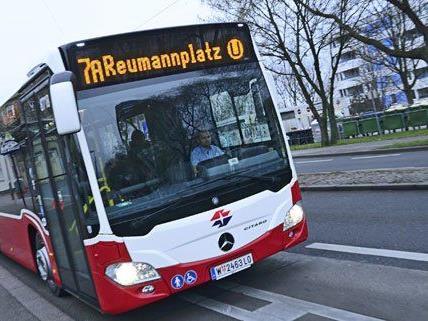 Ab sofort sind die neuen Busse in Wien unterwegs.