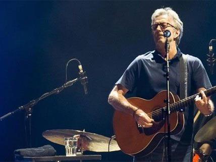 Eric Clapton holt Wien-Konzert nach