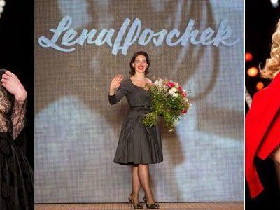 Austro-Designerin Lena Hoschek zeigte gleich am ersten Schauentag ihre Kreationen für Herbst/Winter 2014/15