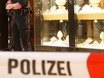 Sechs Tatverdächtige wurden bei einem Juwelierraub in Wien festgenommen.