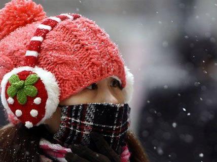 Am Wochenende wird es kalt, auf Schnee wird gewartet.