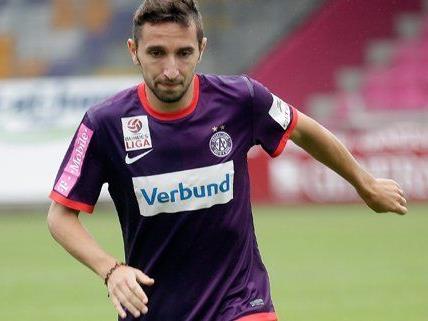 Mit Marin Leovac hat die Austria am Freitag einen weiteren Spieler abgegeben.