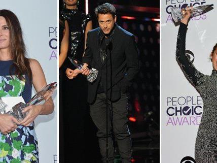 Die glücklichen Gewinner der People's Choice Awards 2014.