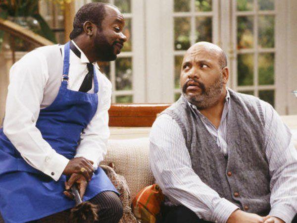 """Avery (Bild rechts) in seiner bekanntesten Rolle als """"Onkel Phil""""."""
