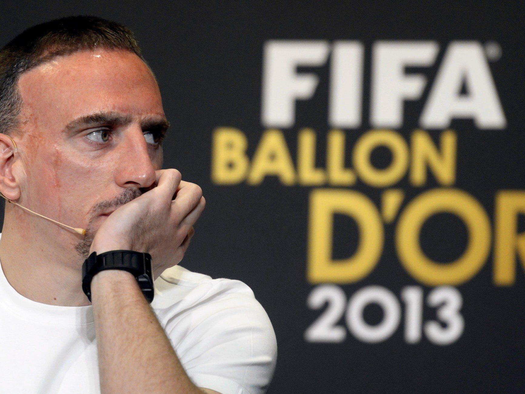 Enttäuscht: Franck Ribery.