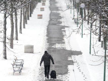 Auch in Wien soll es schneien.