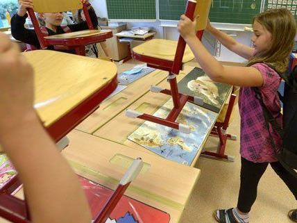 2014 investiert die Stadt Wien viel Geld in Kindergärten und Schulen.
