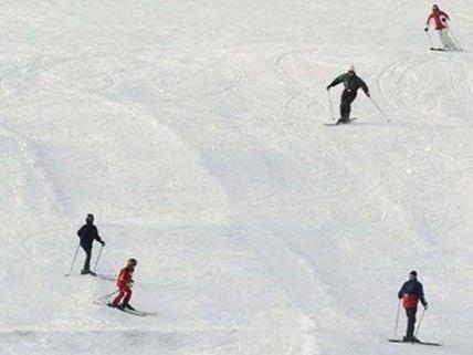 Ski-Unfall am Samstag in Saalbach-Hinterglemm.