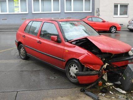 Verkehrsunfall in Wien-Penzing.