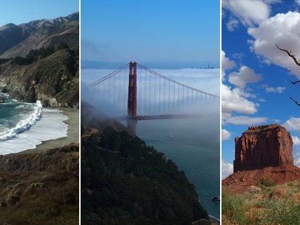 Eine Reise durch die Natur an der Westküste Amerikas.