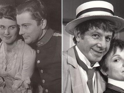 Seit 60 Jahren gibt es in Wien das Volkstheater in den Bezirken - diese Bilder stammen aus dem Jahr 1954.