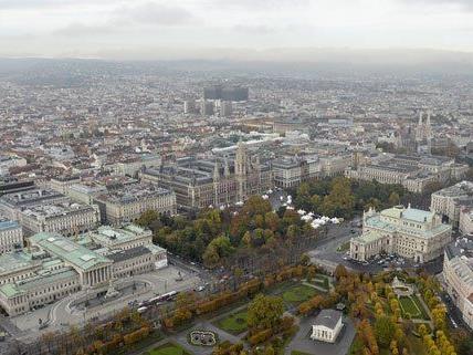 Der Cityguide beinhaltet sechs Spaziergänge durch Wien.