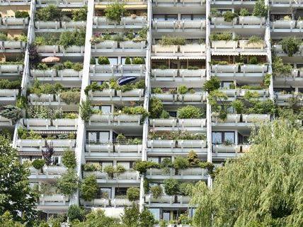 Für Wohnungen in Wien werden 2014 höhere Mieten verlangt.