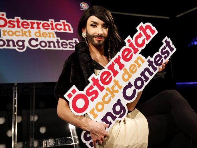 Conchita Wurst geht für Österreich ins Song Contest-Rennen.