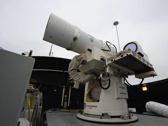 Bereits im Sommer soll die Laser-Kanone zum Einsatz kommen.