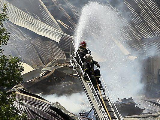 Gefährlicher Einsatz der Feuerwehr